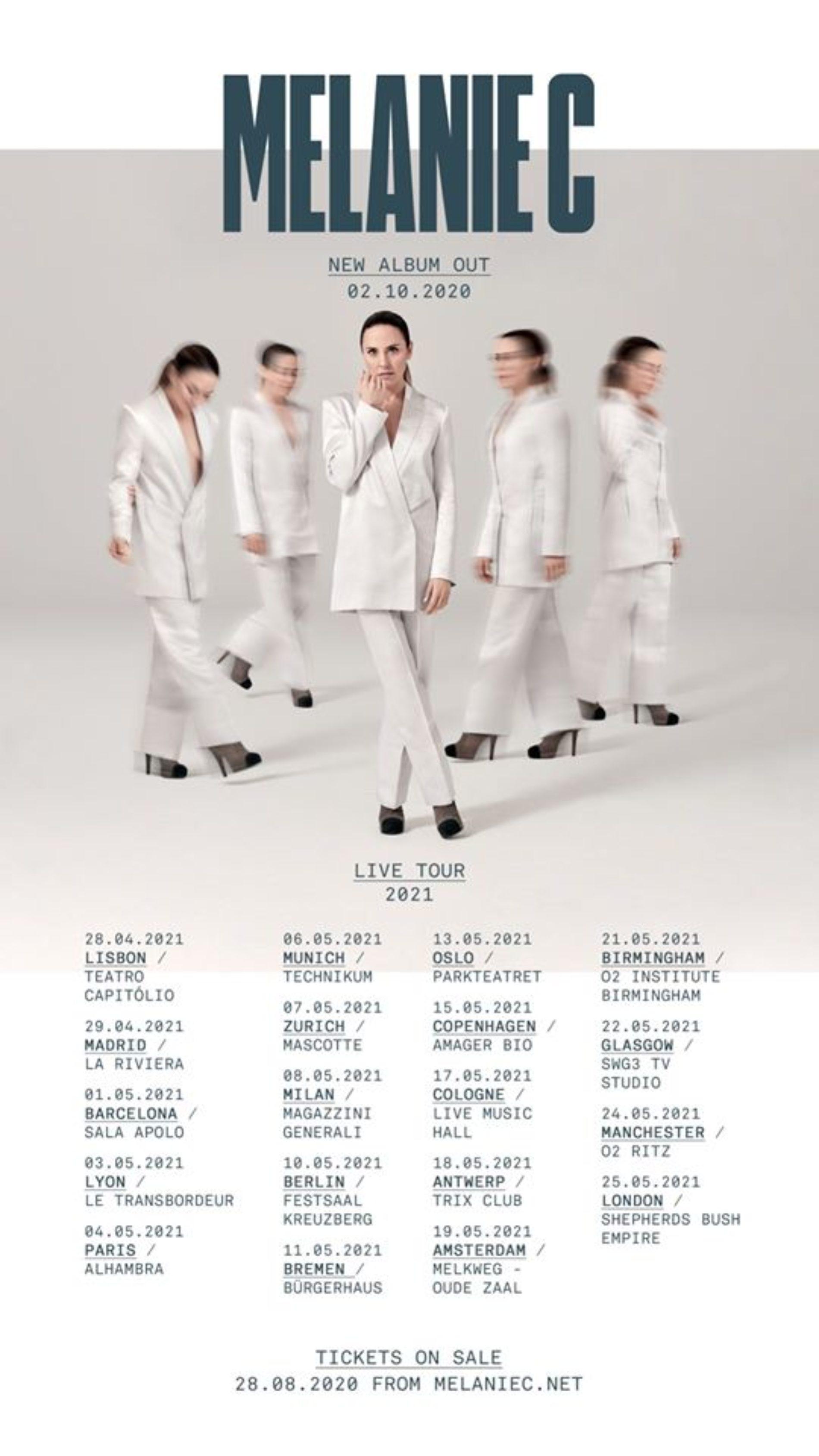Melanie C – neue Tour und neues Album!