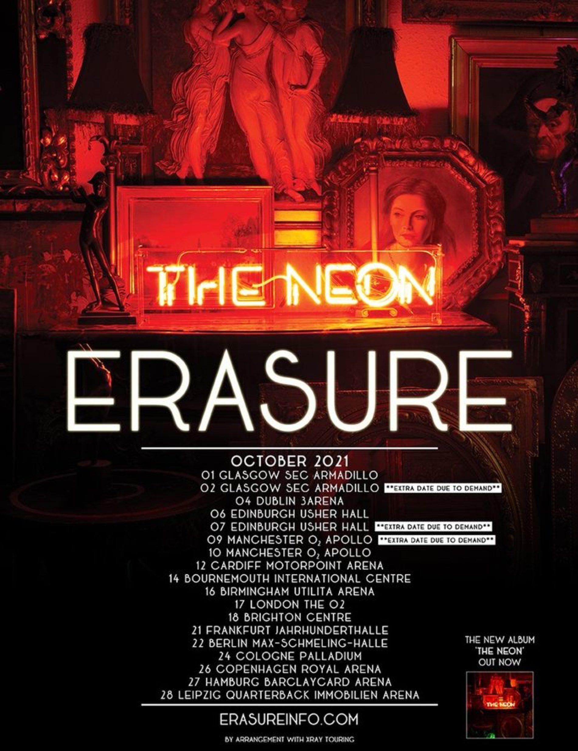 Erasure – The Neon Tour 2021