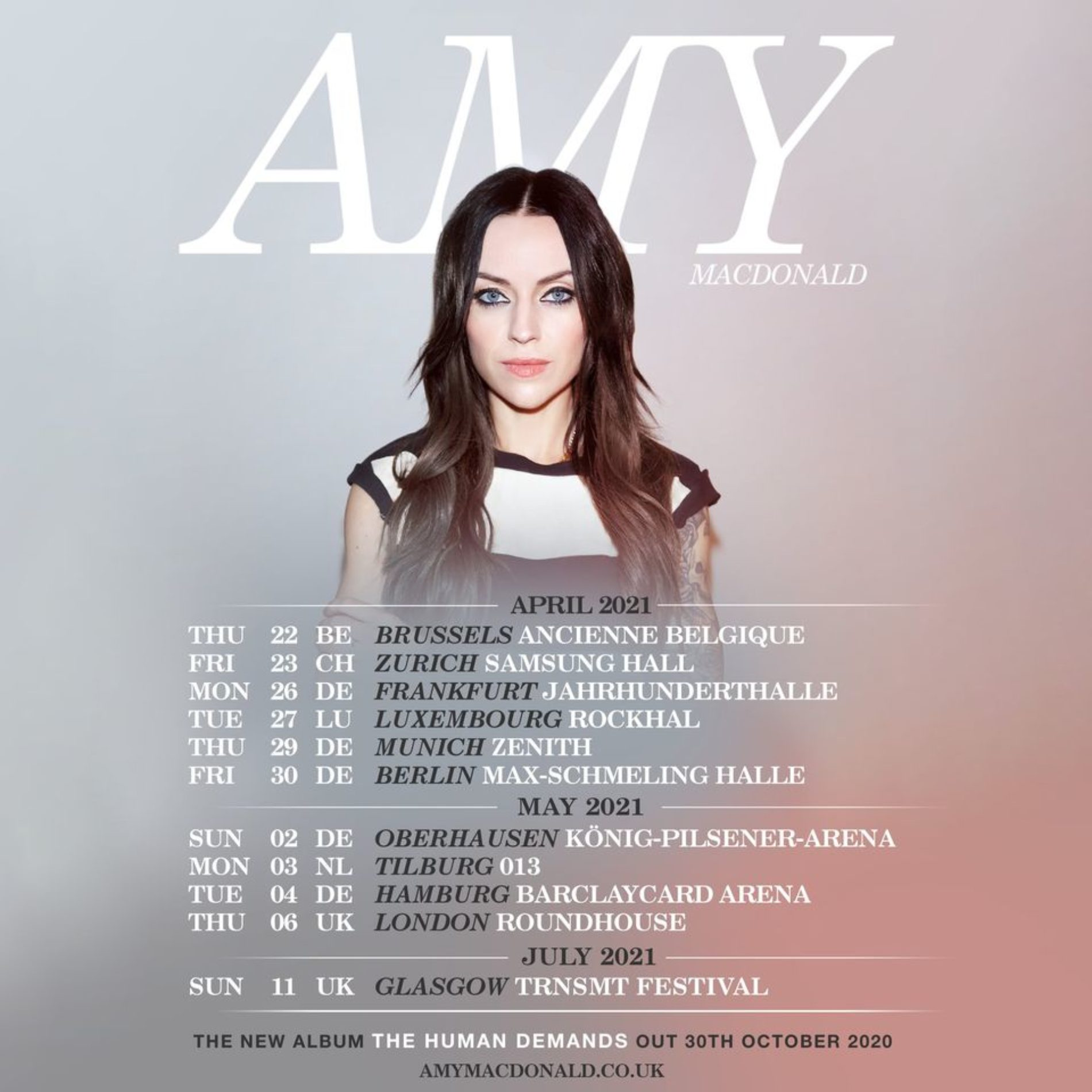Amy Macdonald – Tour 2021