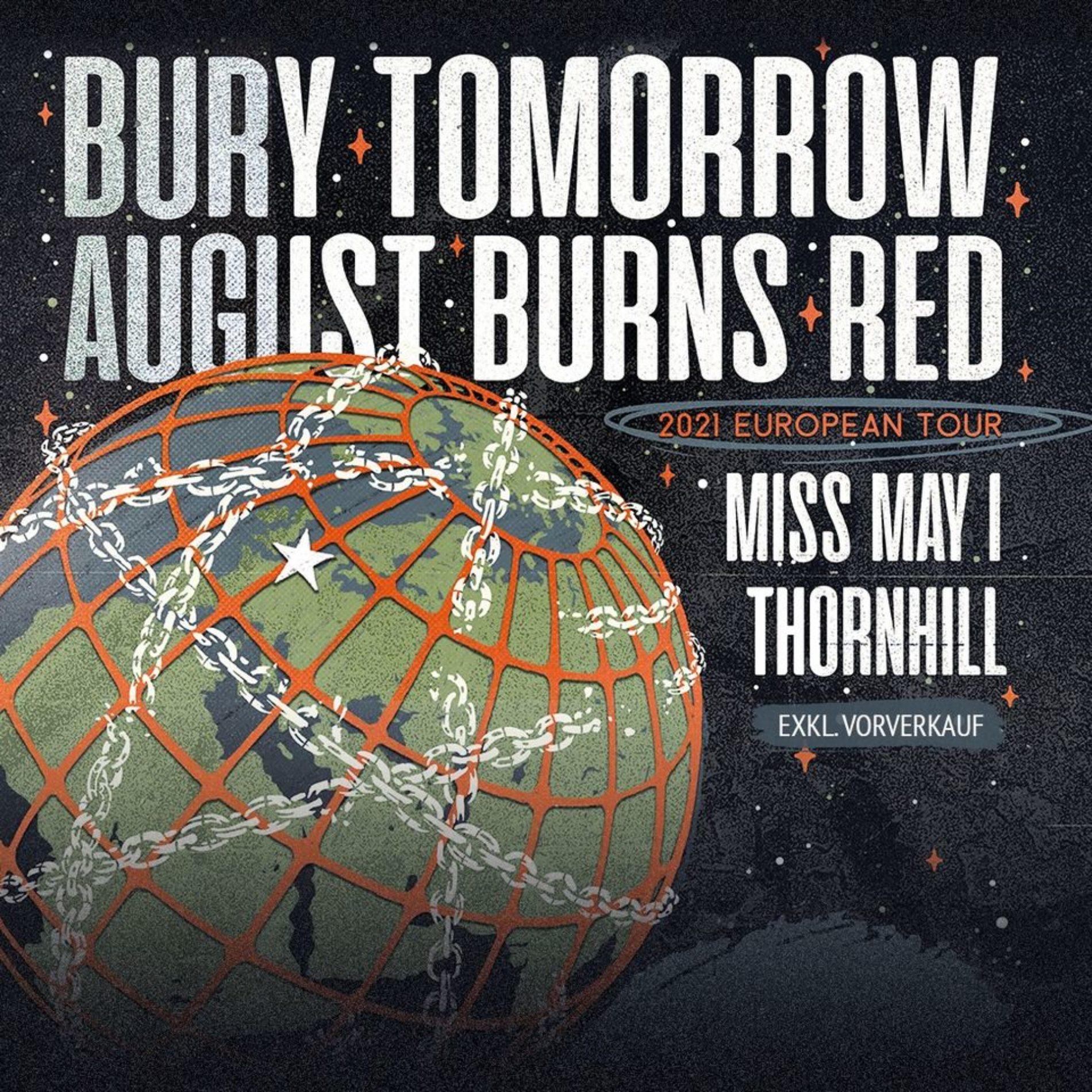 Bury Tomorrow und August Burns Red auf Co-Headline-Tour