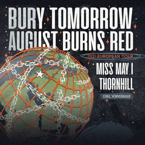 Bury Tomorrow und August Burns Red auf Co-Headline-Tour
