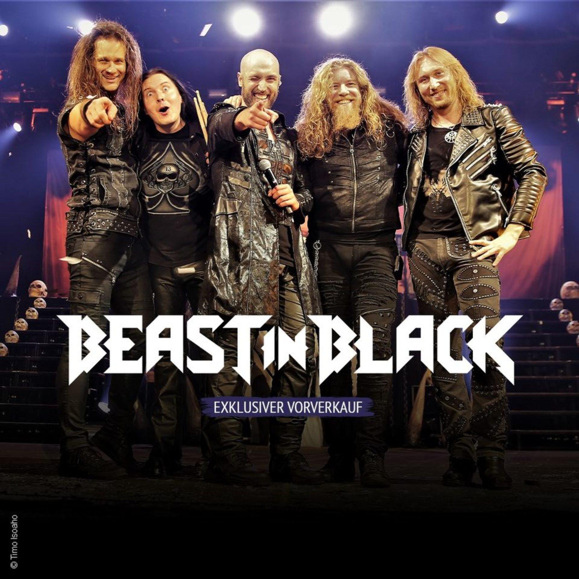 Beast In Black – Europatour im Winter 2021
