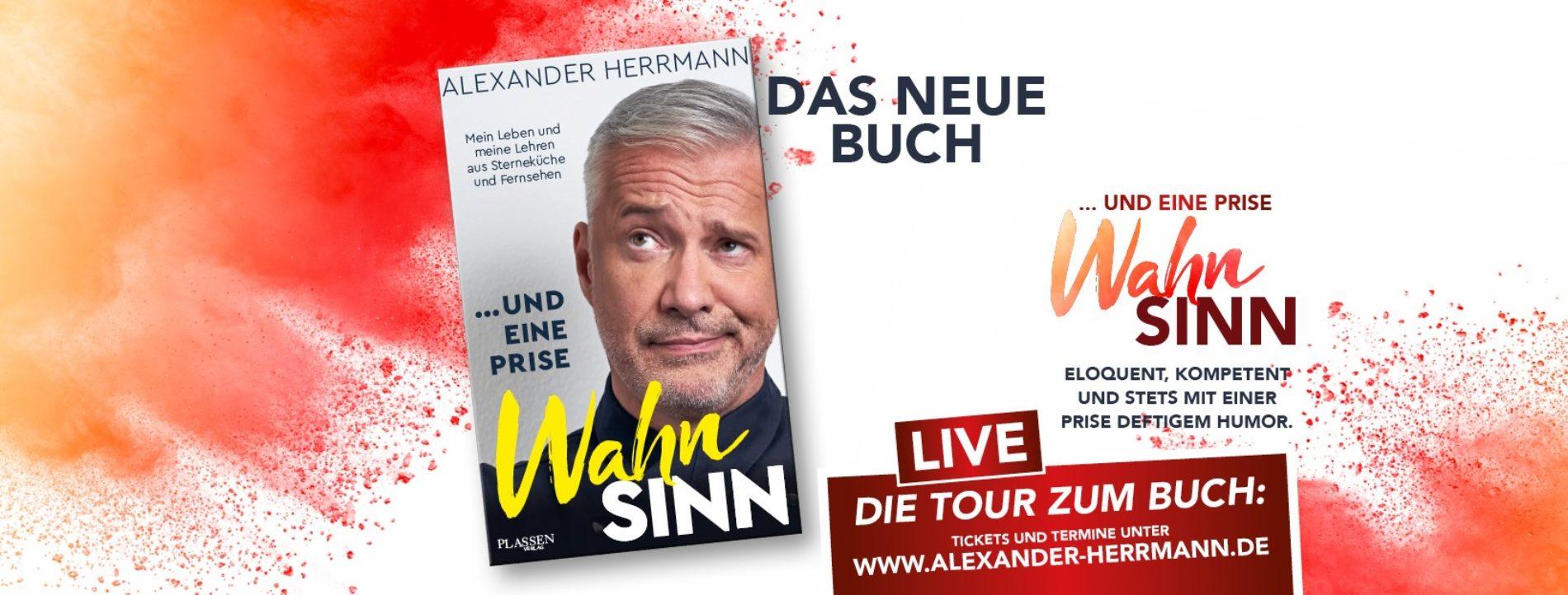 Alexander Herrmann – Live …und eine Prise Wahnsinn