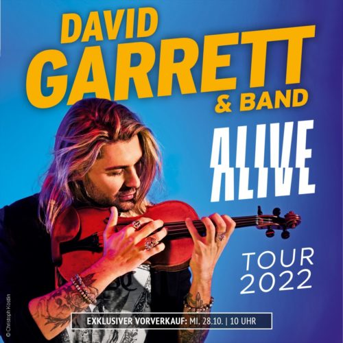 David Garrett – Alive Tour 2022