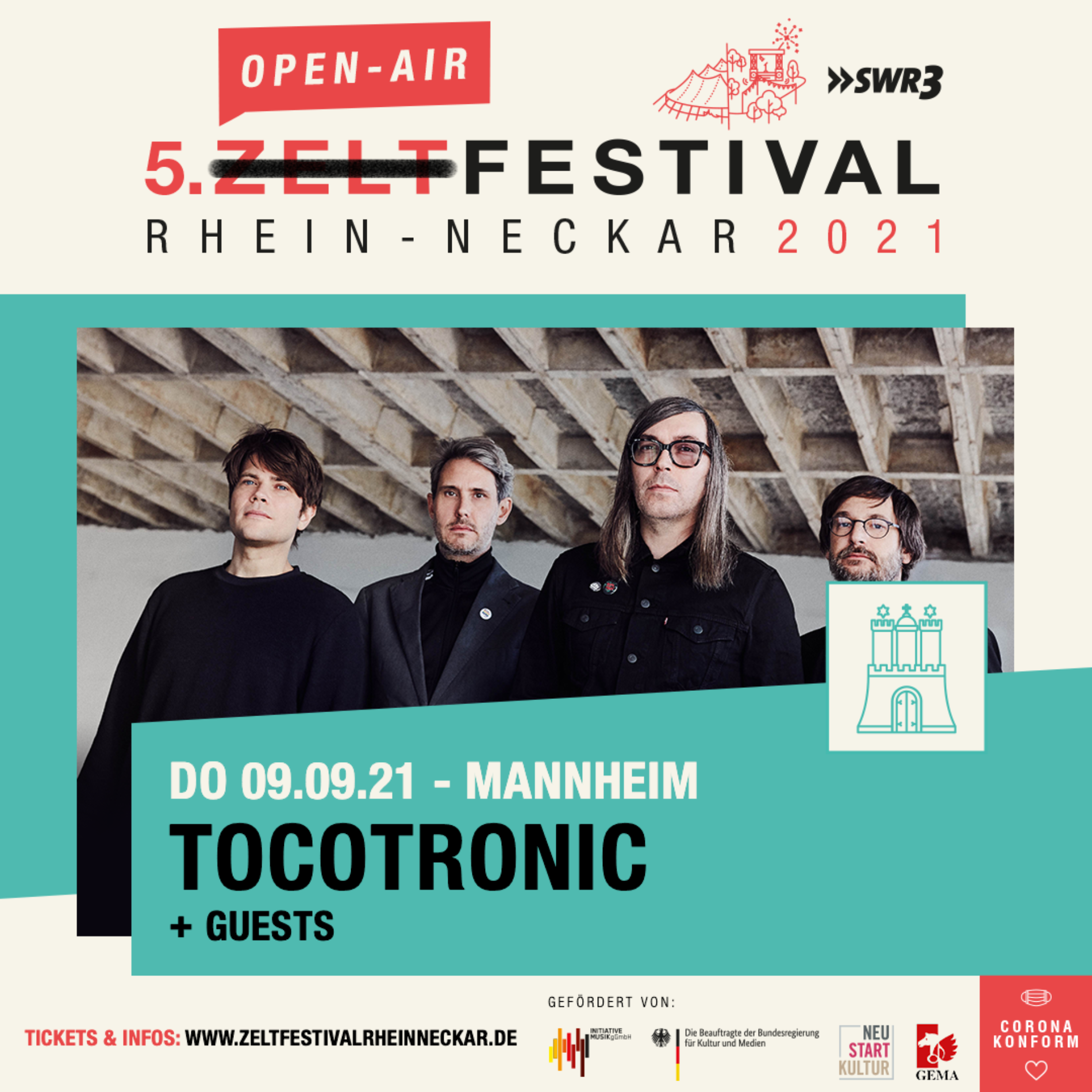 Open Air Festvial – Tocotronic