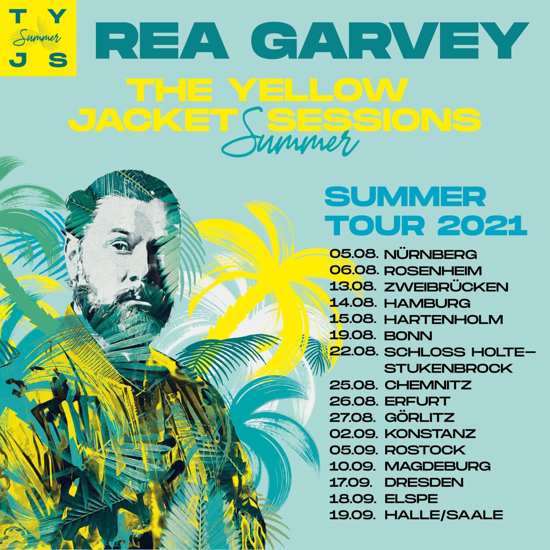 Rea Garvey – THE YELLOW JACKET SUMMER SESSIONS 2021