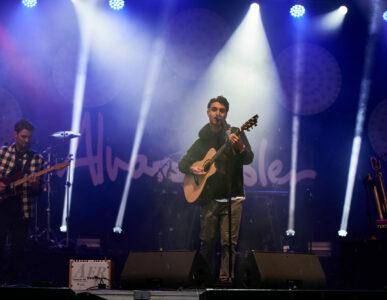 Alvaro Soler beim Zeltfestival Mannheim 2021