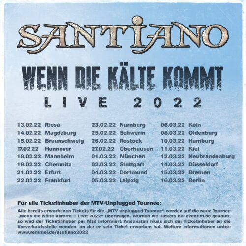 Santiano – Wenn die Kälte kommt 2022