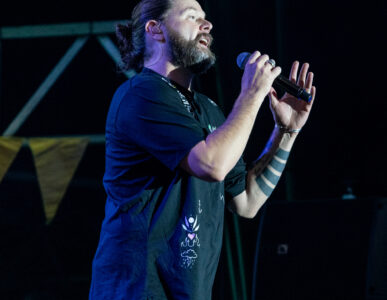 Rea Garvey beim Zeltfestival Mannheim 2021