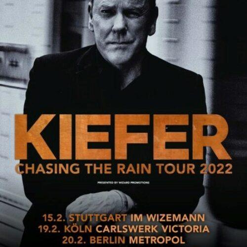 Kiefer Sutherland – Chasing The Rain Tour 2022
