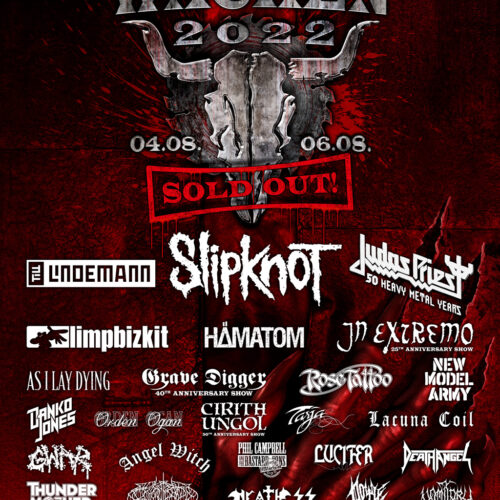 WACKEN 2022 – Bands bestätigt