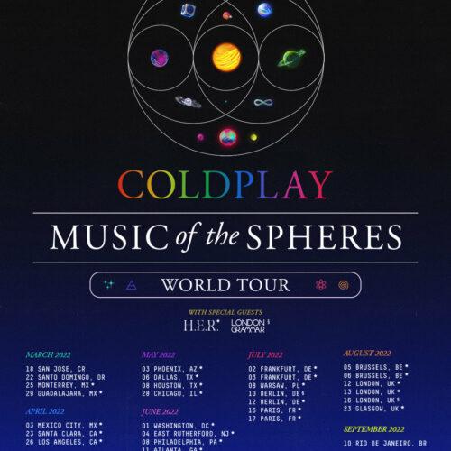 Coldplay kommen nach Deutschland